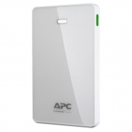 APC Mobile Power Pack, 5000mAh Li-polymer, White M5WH-EC