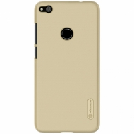 Чехол-накладка Nillkin Frosted Shield PC Huawei P8 Lite 2017 Gold