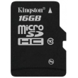 Карта памяти Kingston 16Gb Class10 UHS-I+ad (SDC10G2/16GB)