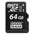 GOODRAM 64 GB microSDXC class 10 UHS-I + SD Adapter M1AA-0640R11