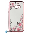 Панель Flowers Series BeCover для Samsung A320 2017 Pink