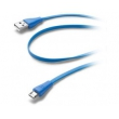 Дата кабель Cellularline microUSB 1m blue (USBDATACMICROUSBB)
