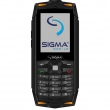 Sigma mobile X-treme DR68 Black/orange