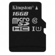 Карта памяти Kingston 16Gb Class 10 UHS-I Canvas Select+ad R80/W10 (SDCS/16GB)