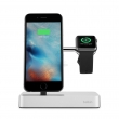 Док-станция для зарядки/синхронизации Belkin Charge Dock iWatch + iPhone (F8J183vfSLV)