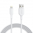 Кабель Lightning Anker Кабель Powerline II Lightning 1.8м V2 (A8433H21) White