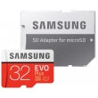 КАРТА ПАМЯТИ SAMSUNG MICROSDHC 32GB EVO PLUS UHS-I (MB-MP32GA/APC) + SD АДАПТЕР