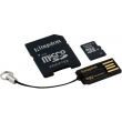 Карта памяти Kingston 16 GB microSDHC class 10 Mobility Kit MBLY10G2/16GB