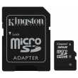 Карта памяти Kingston 32 GB microSDHC class 4 + SD Adapter SDC4/32GB