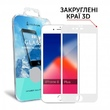 Защитное Стекло Makefuture 3D Apple Iphone 8 Plus White