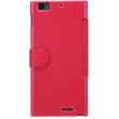 Чехол NILLKIN Lenovo K900 - Fresh Series Leather Case (Red)
