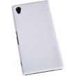 Чехол NILLKIN Sony Xperia Z1 - Super Frosted Shield (White)