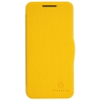Чехол NILLKIN HTC Desire 300 - Fresh Series Leather Case (Yellow)