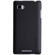 Чехол NILLKIN Lenovo K910 - Super Frosted Shield (Black)